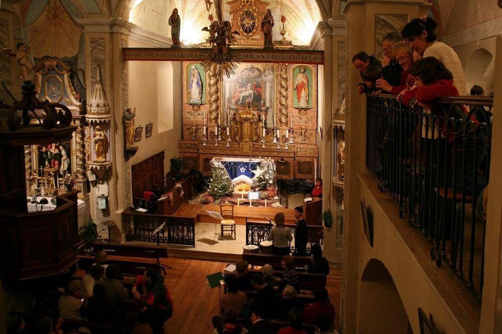 Noël 2009 à l'église Saint Pierre de Villard - Les photos sont de André Palla (Merci Dédé !)