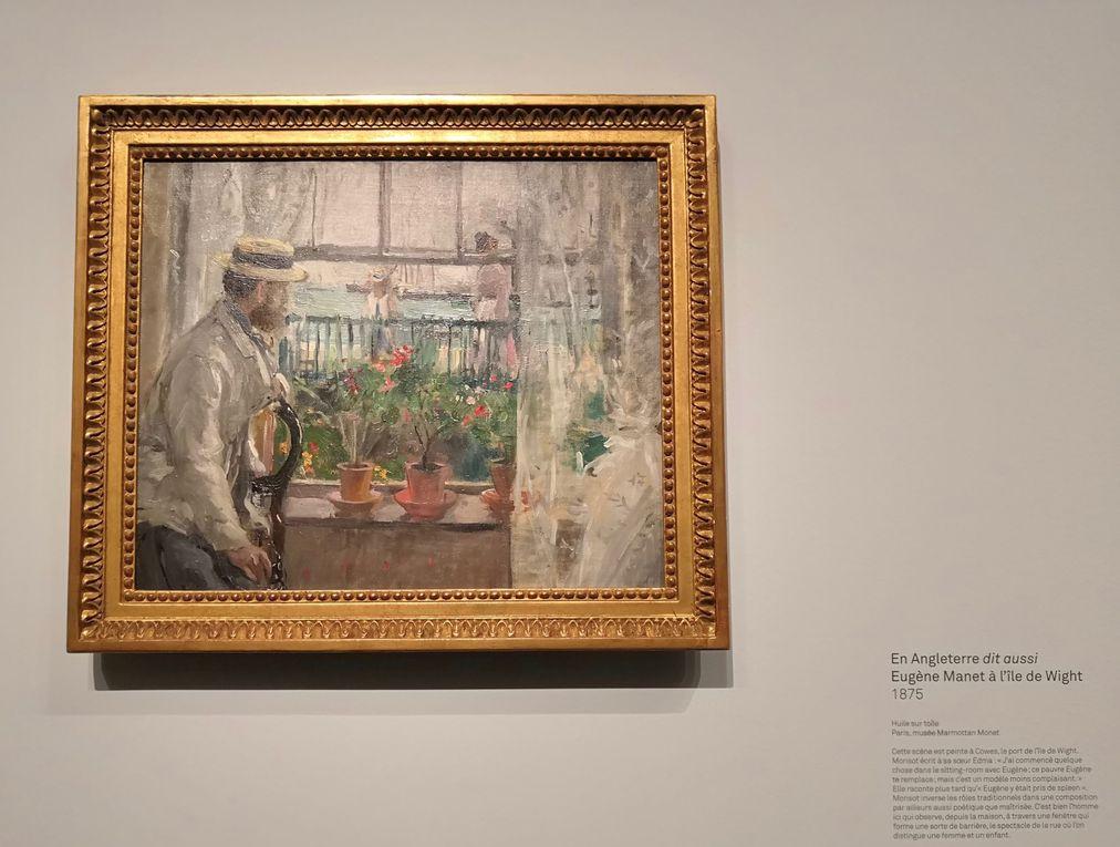 En Angleterre (dit aussi : Eugène Manet à l'île de Wight), 1875, Huile sur toile, Musée Marmottan-Monet