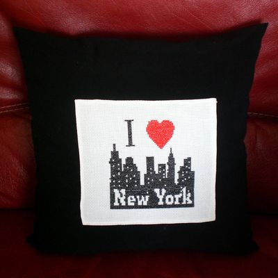 Coussin : New York