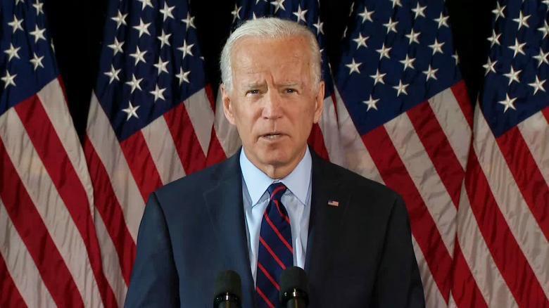 Joe Biden succède à Donald Trump et devient le 46ème président des Etats-Unis. Photo : CNN