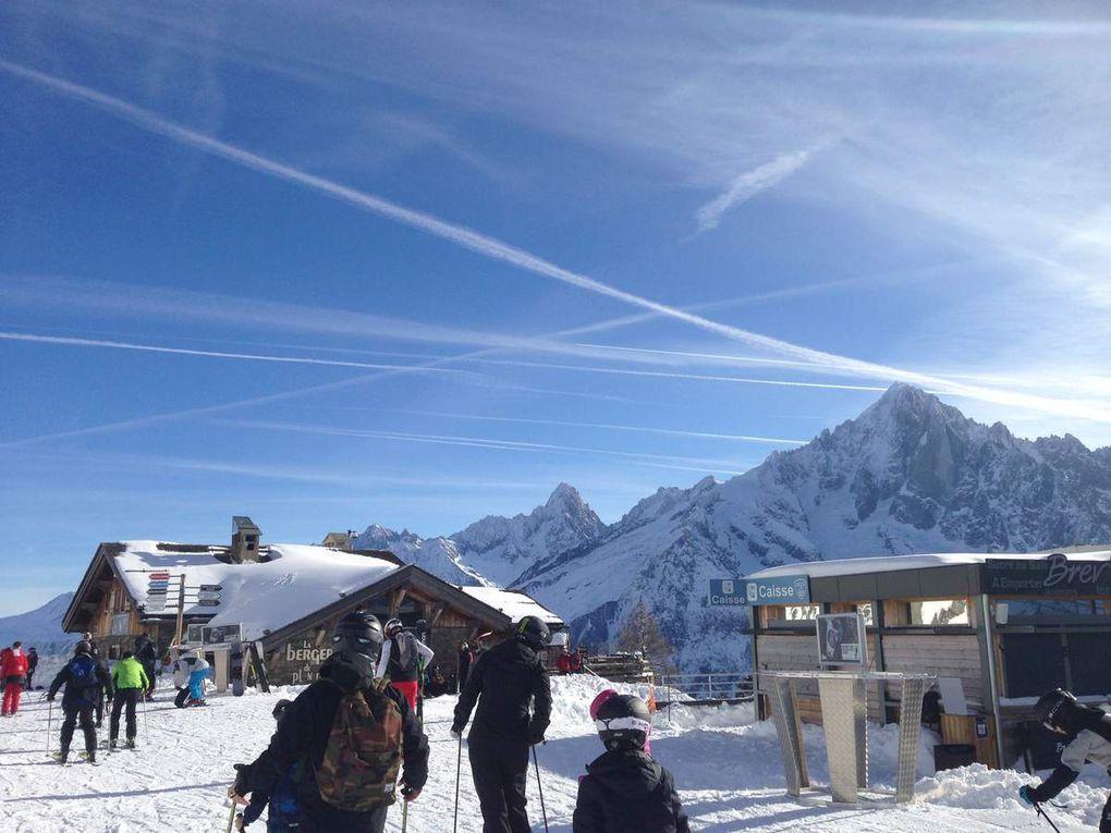 Chamonix février - mars 2017 - A vous couper l'envie d'aller en montagne !
