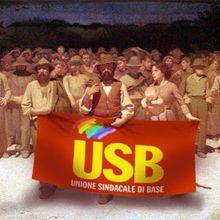 Les 10 ans de l'Union syndicale de base (USB) en Italie