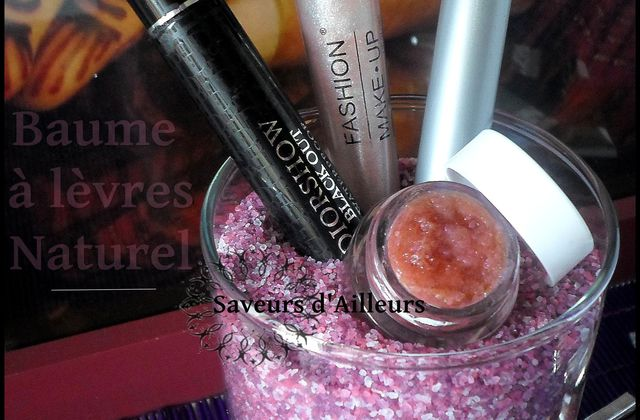 Make up // Baume à lèvres naturel