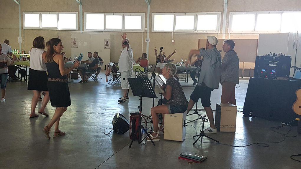 Saint-Martory - chez Kiki avec Les Cigales