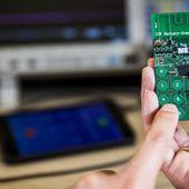 Un téléphone mobile sans batterie qui fonctionne à l'énergie ambiante