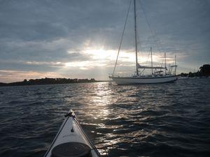 Morbihan Episode 4 : Île d'Arz, enfin le Moine !