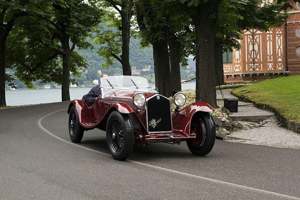VOITURES DE LEGENDE (529) : ALFA ROMEO  8C 2300  ZAGATO SPIDER - 1932