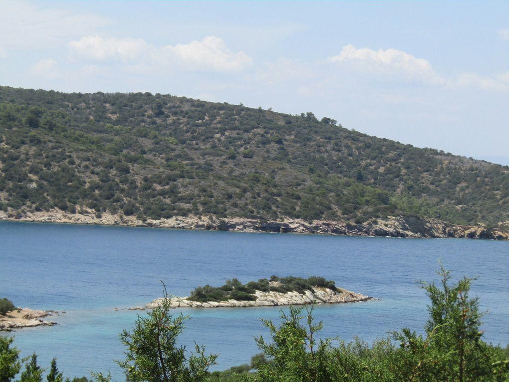 Quelques bords du sud du Péloponnèse...