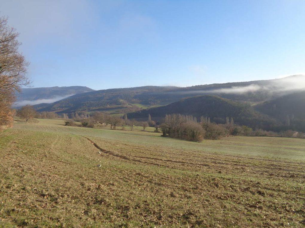 Randonnée reco. à Crest : Crest le vallon de la Lauziére