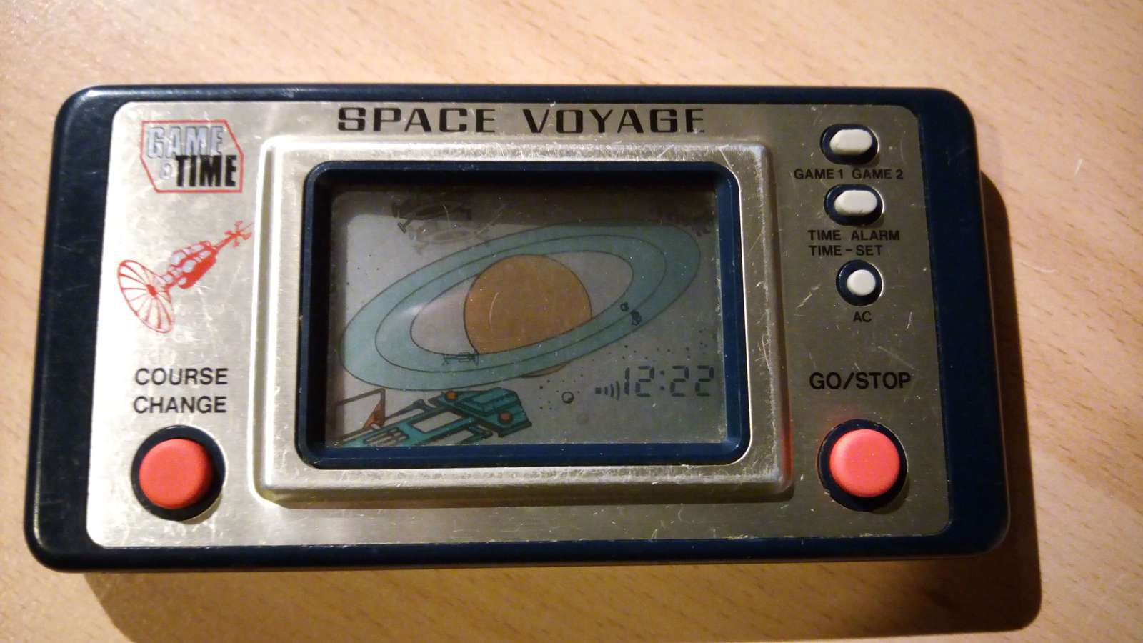 SPACE VOYAGE - GAME & TIME