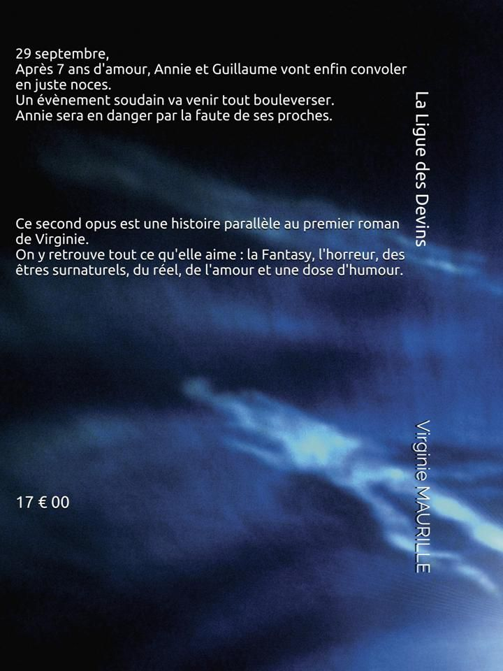 """""""La ligue des Devins"""" - 2ème roman -"""