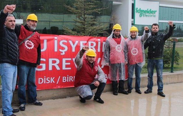 Une grève massive des métallos en Turquie interdite par le gouvernement pour raisons de 'sécurité nationale'