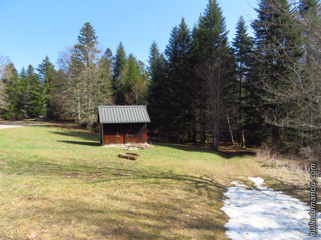 Le refuge forestier du Lauset