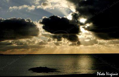 La Turballe - La mer - Sombre...