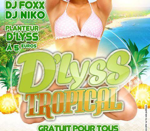 [SHOW]D'LYSS TROPICAL AU CAP ANTILLES LE 29/10/2010