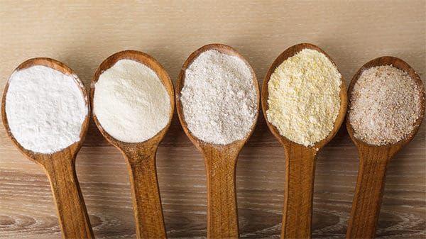 Coup d'oeil sur la farine....
