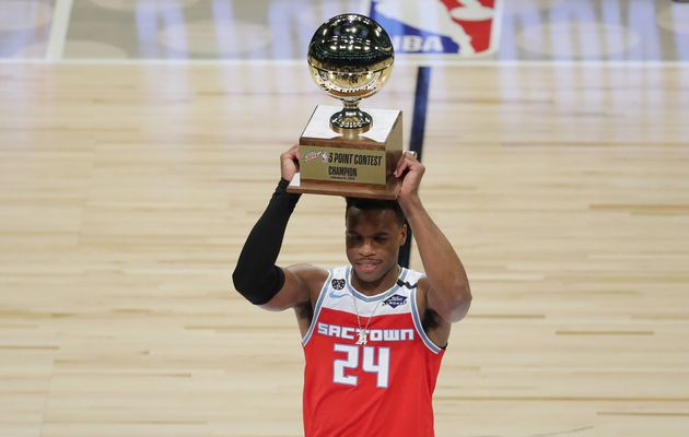 All-Star Game 2020 : Buddy Hield remporte le concours à 3-points