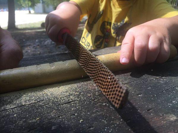 [Activité] Jouer - S'émerveiller - Construire, avec et dans la nature (réflexions et pistes bibliographiques)