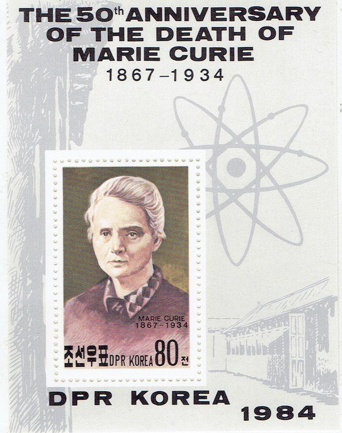 Marie Curier, Physique, Chimie