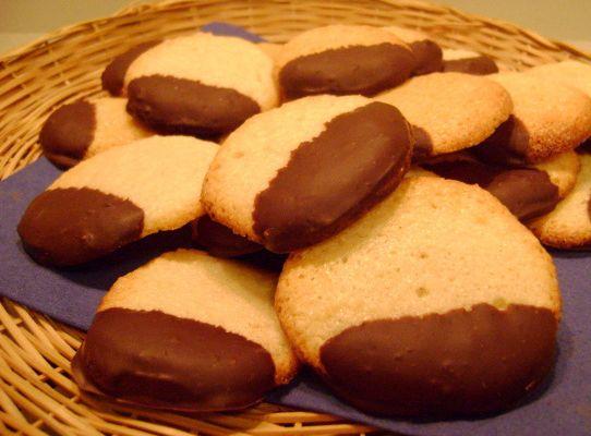 Palets aux Amandes et au Chocolat