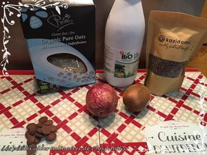 Porridge exotique et chocolaté