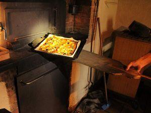 André à la pâte ! les filles à la préparation des ingrédients, cuisson et dégustation...
