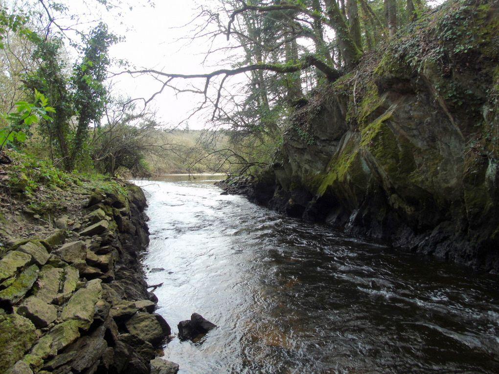 Le long de la rivière  , le 23 mars 2017