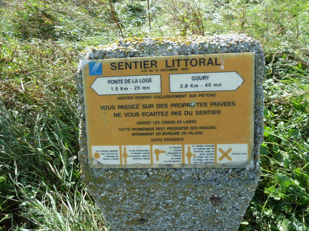 Randonnée Cotentin, d'Omonville-la-Petite à Goury - 9 km.