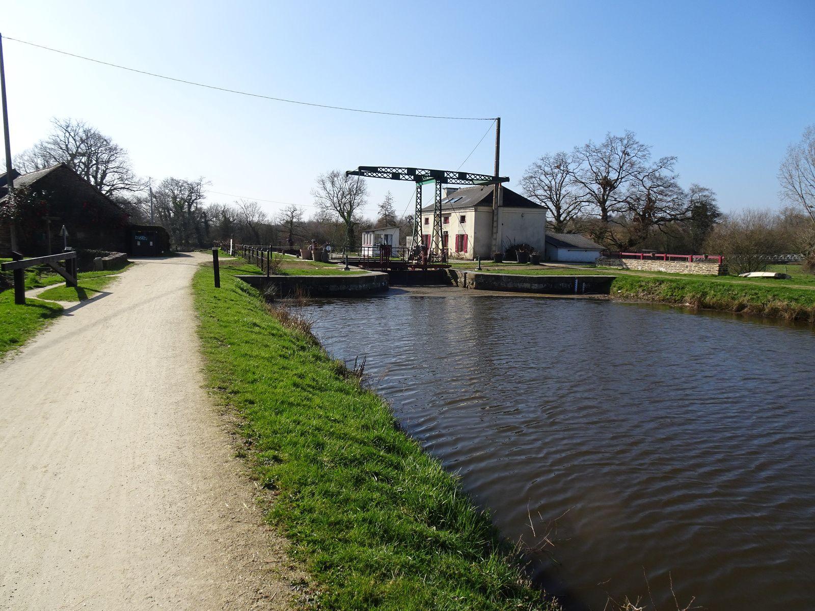 Au fil de la Vilaine - Etape 5 - Rennes / Bourg-des-Comptes - 54,2 km - A.R