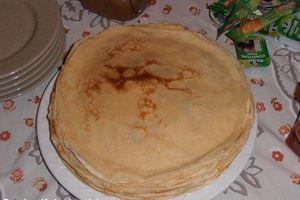 La Chandeleur: recette de crêpes sucrées.