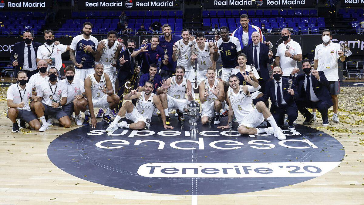 Le Real Madrid remporte la SuperCopa Endesa pour la troisième fois d'affilée !
