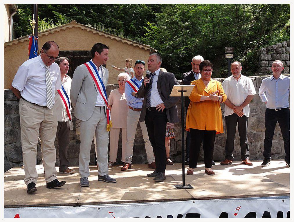 Sausses  : INAUGURATION DE LA SALLE POLYVALENTE «LE PREAU»