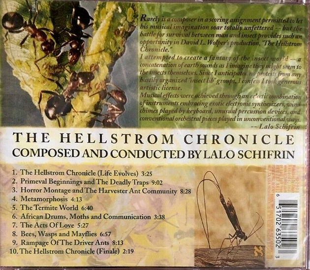 🎬📚 WALON GREEN - DES INSECTES ET DES HOMMES (THE HELLSTROM CHRONICLE, 1971)