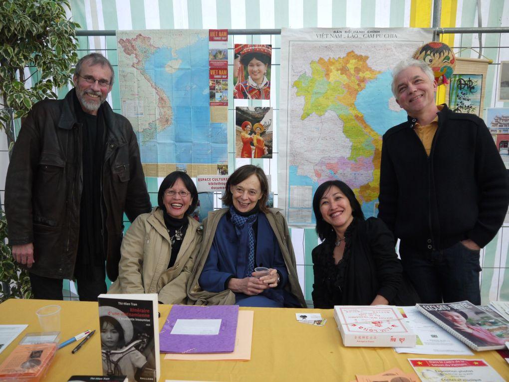 Conférence avec Pierric Le Neveu président de FaAOD et rencontre littéraire avec Tran Thi Hien.