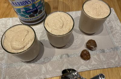 Mousse aux marrons (version 2)