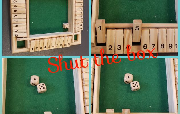 Maths : Shut the box  (décomposition des nombres)