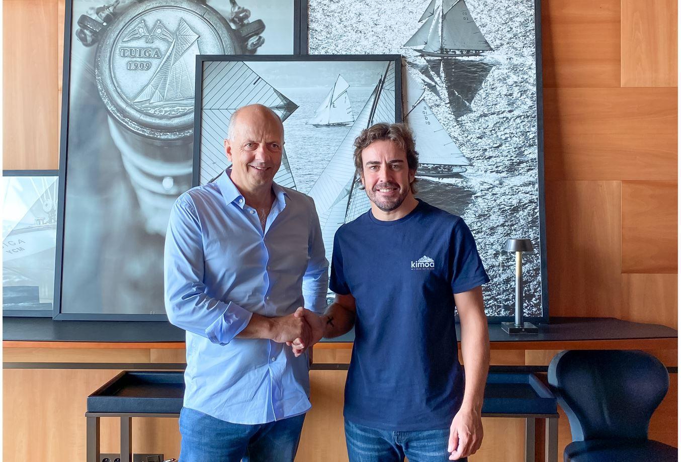 Scoop - Fernando Alonso diventa elettrico per il suo nuovo catamarano a motore!
