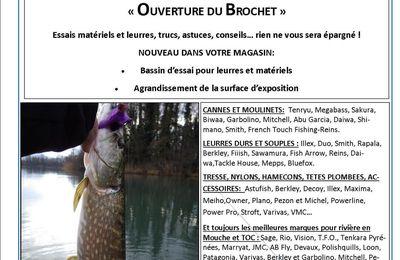 """Journée Portes Ouvertes """"ouverture du brochet"""" le 9 mai 2015"""