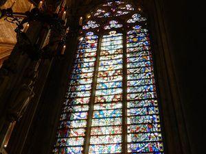 Basilique Saint Nazaire Carcassonne, canal du midi en camping-car