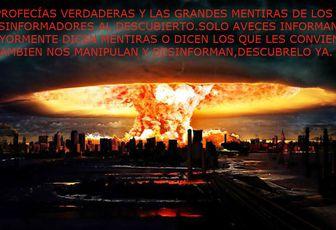 PROFESIAS CUMPLIDAS Y QUE TAMBIEN SE CUMPLIRAN,QUE SON VERDADERAS Y QUE MUCHAS POTENCIAS MUNDIALES,INCLUYENDO POLITICOS DE ESTADOS UNIDOS DE NUESTRA AMERICA,NO QUIEREN QUE TU SEPAS