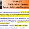 Albert Fert, parrain de la Classe Nanosciences