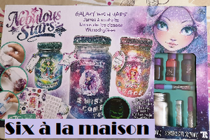 DIY : Galaxy whish jars avec Nebulous Stars