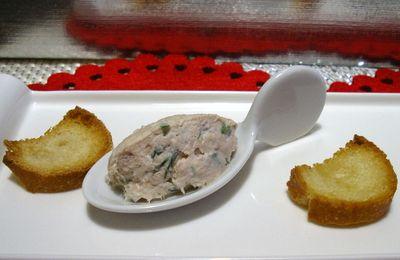 mousse de thon au mascarpone