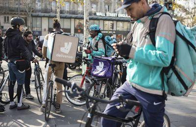 CGT Les livreurs à vélo en lutte