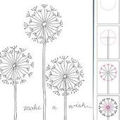 How to Draw a Dandelion - Paperblog
