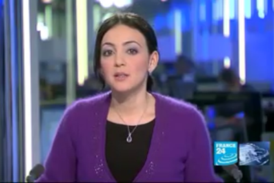 2012 01 11 @06H30 - MERIEM AMELLAL LALMAS, FRANCE 24, LE JOURNAL