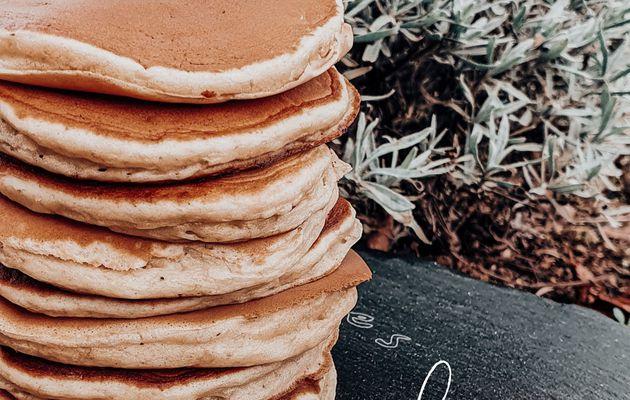 Pancakes à la banane {Sans sucre et sans matière grasse}