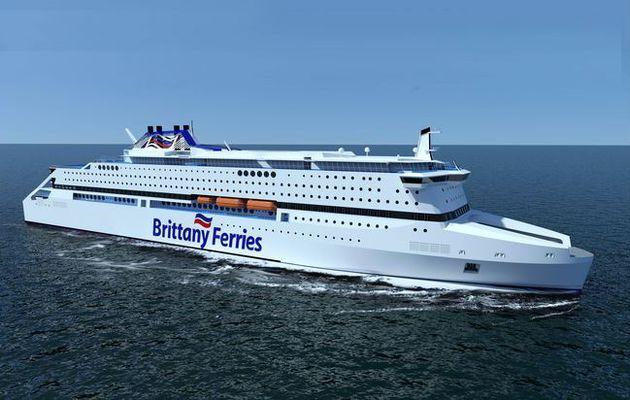Inquiétude pour le financement du nouveau ferry écolo de Brittany Ferries