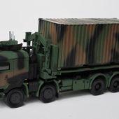 Porteur Polyvalent Terrestres (PPT) et container au 1/48 de chez Master Fighter -