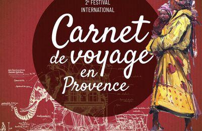Festival du carnet de voyage de  Lourmarin / Vaucluse